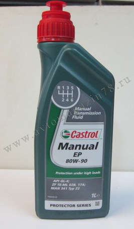 Масло Castrol EP 80W90 GL-4 1л