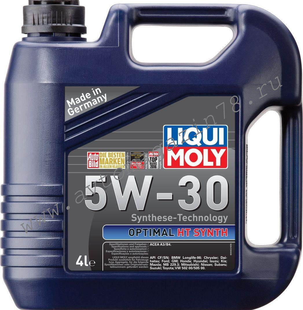 Масло LiquiMoly Optimal 5W30 4л. синт.