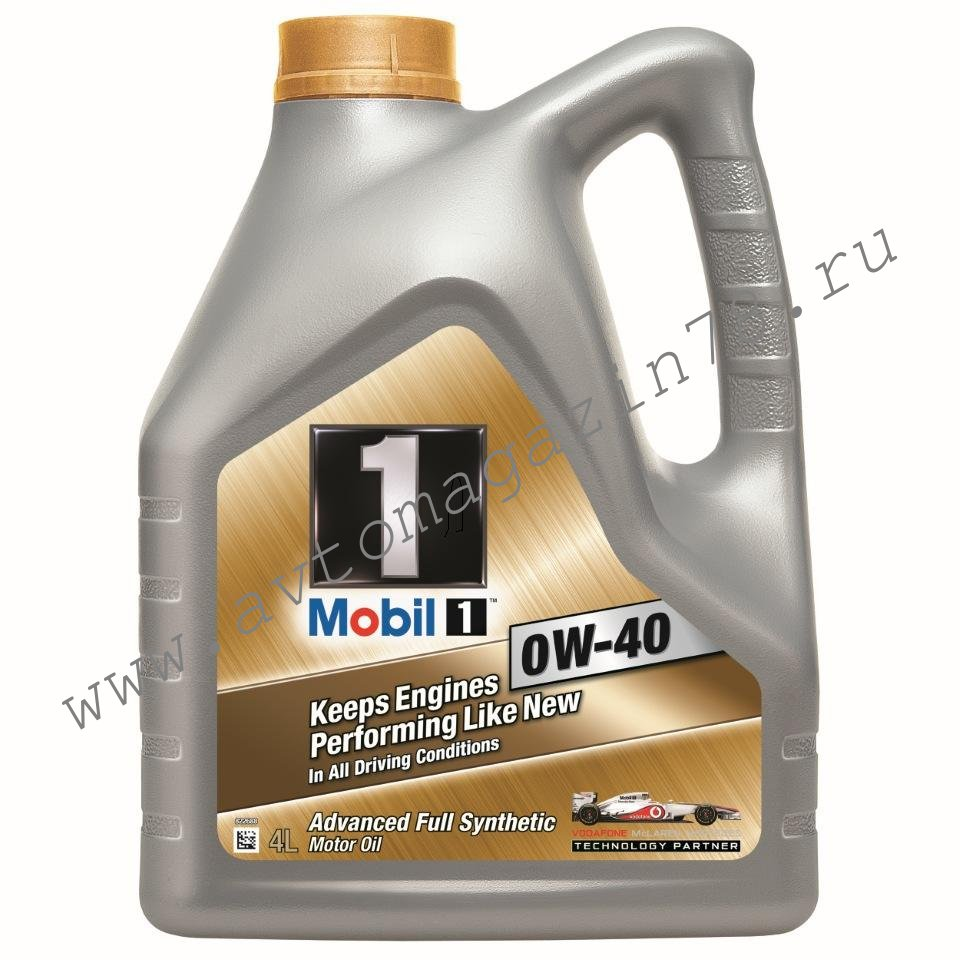 Масло Mobil 1  0W40 4л.*