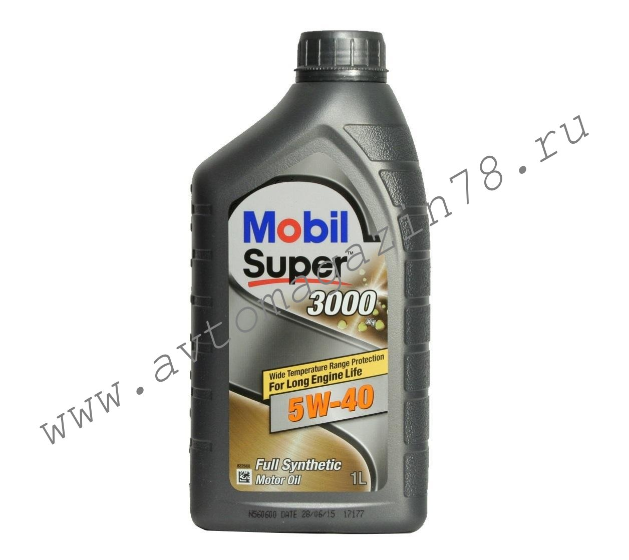 Масло Mobil Super 3000 5W40 1л.