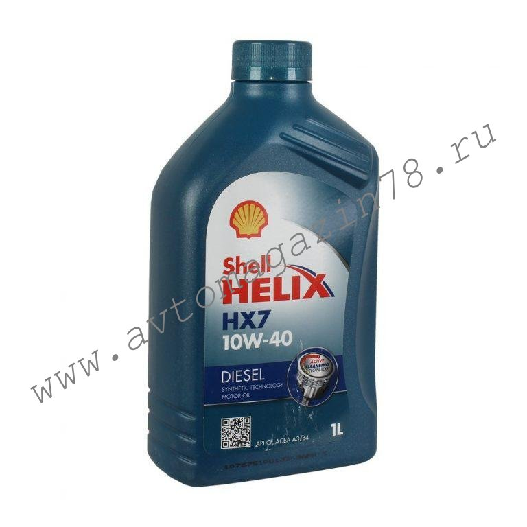 Масло Shell Helix HX7 Diesel 10w40 1л.