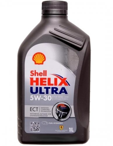 Масло Shell Helix Ultra ECT 5w30 1л.