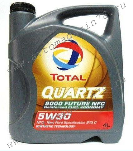 Масло TOTAL QUARTZ 9000 FUTURE NFC  5w30 4л *