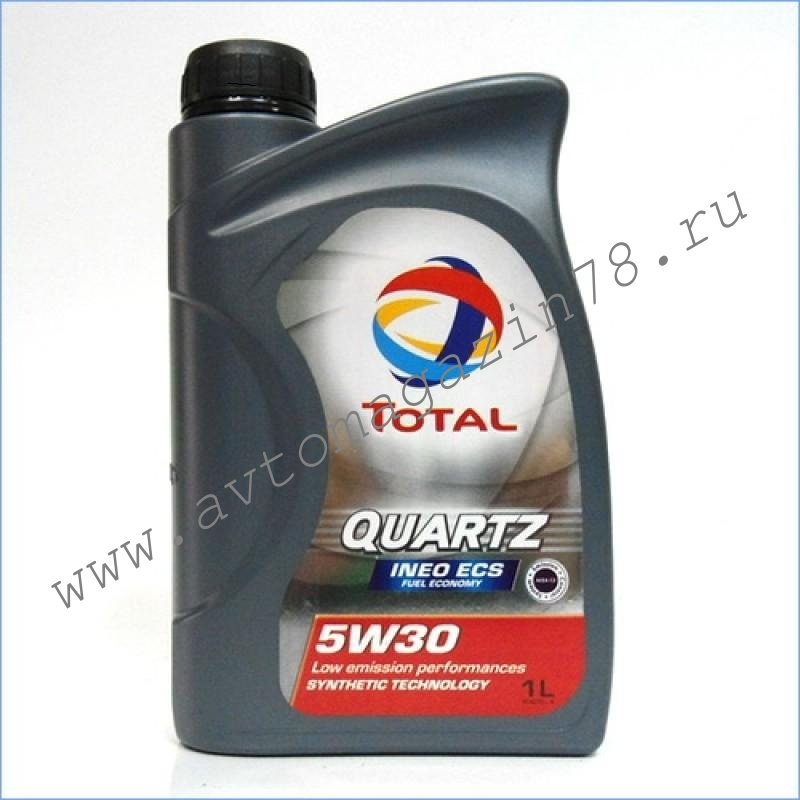 Масло TOTAL QUARTZ INEO ECS 5w30 1л
