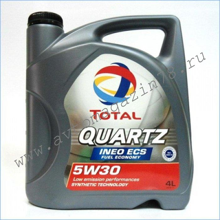 Масло TOTAL QUARTZ INEO ECS 5w30 4л